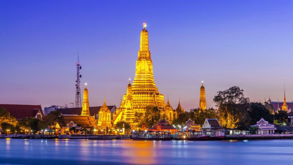 Bangkok, Daggryets Tempel