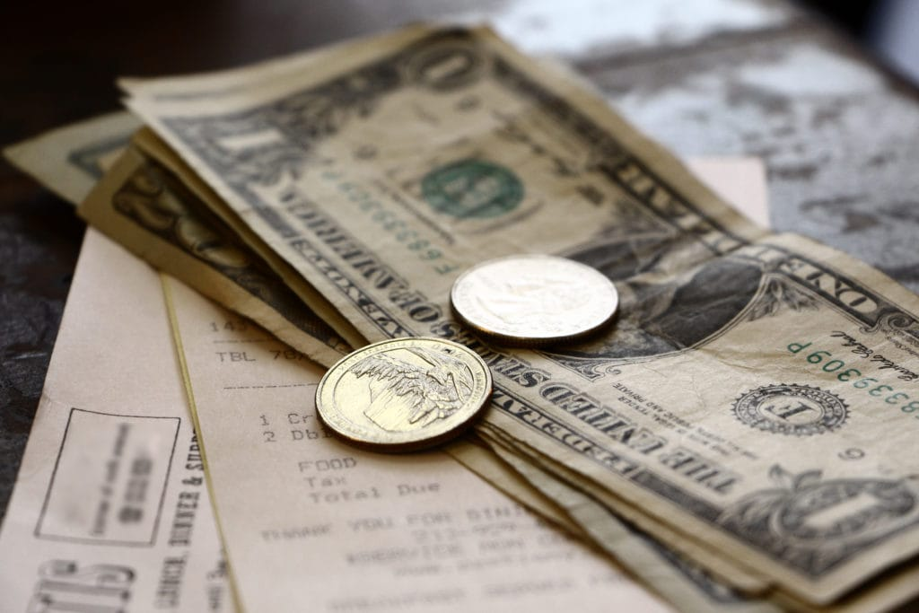 USA drikkepenge