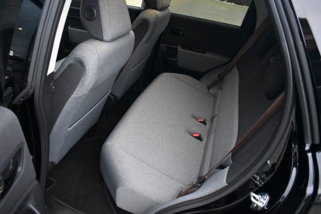 Bagsæde i Honda elbil