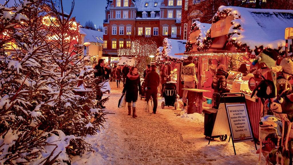 Julemarkedet på Gammeltorv i Aalborg