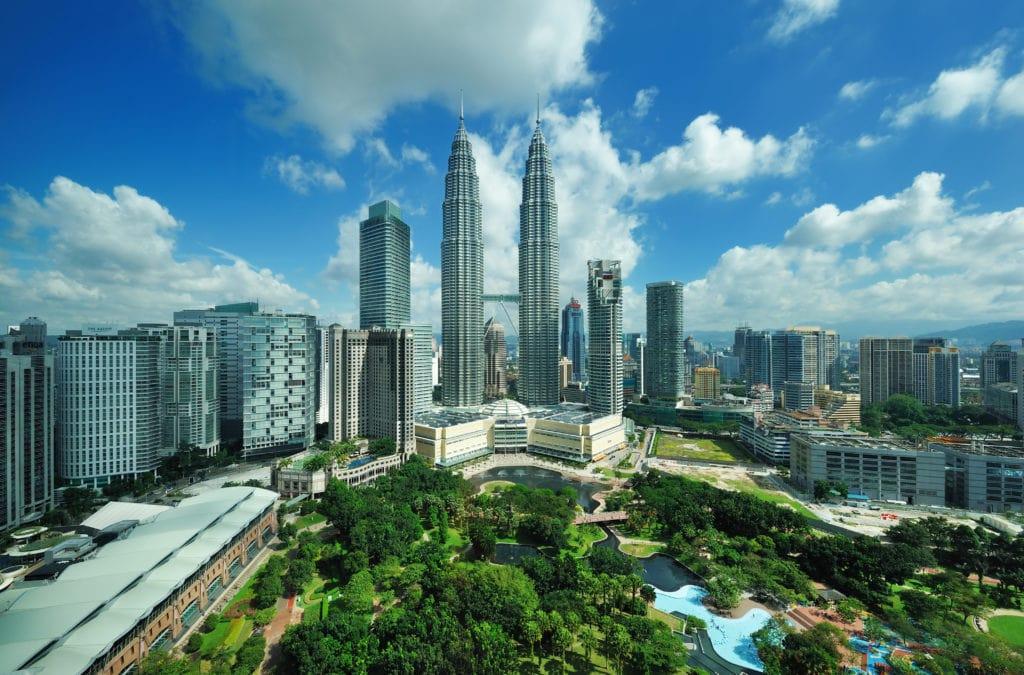 Malaysia, Kuala Lumpur Patronas Twin Towers