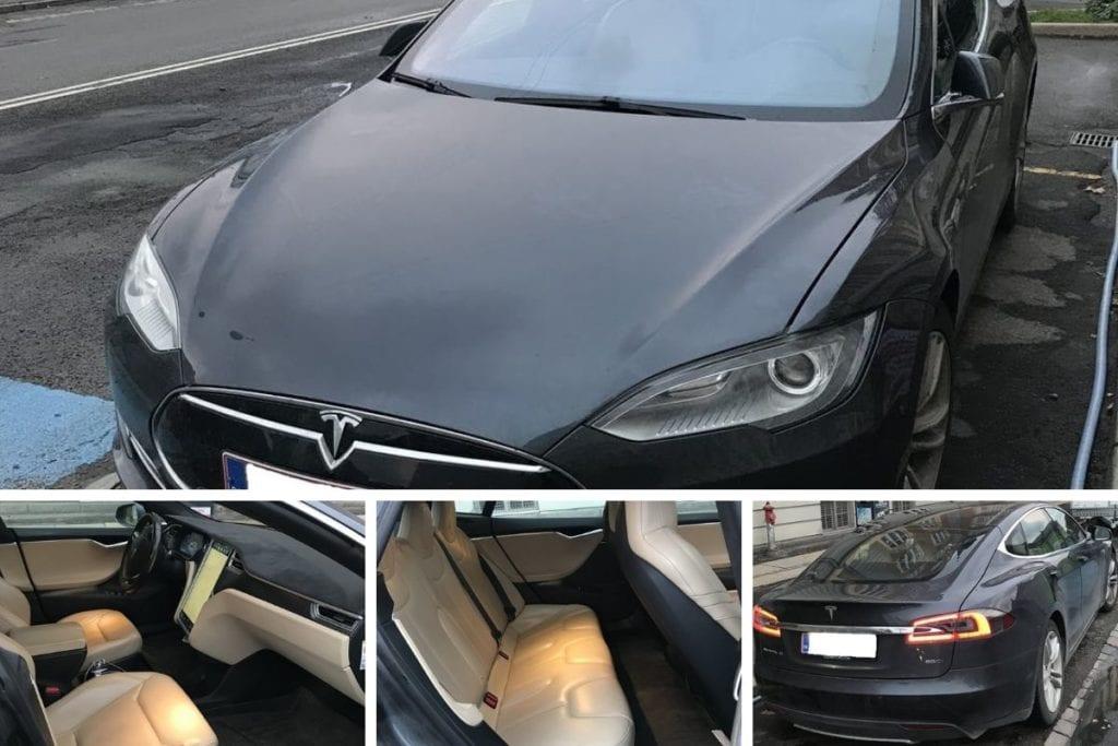 Billeder af Tesla model s